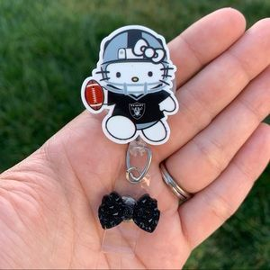 Hello Kitty Raiders Badge Holder
